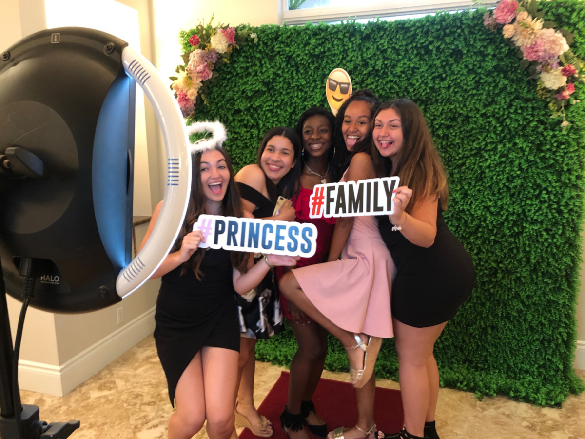 The Perfect Backdrop for Your Photo Booth!